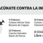¡Vacúnate contra la influenza! @DeptSaludPR @EDUCACIONPR @AVPPuertoRico @ACUEDUCTOSPR @UPRInforma https://t.co/vVfzbw6ucY