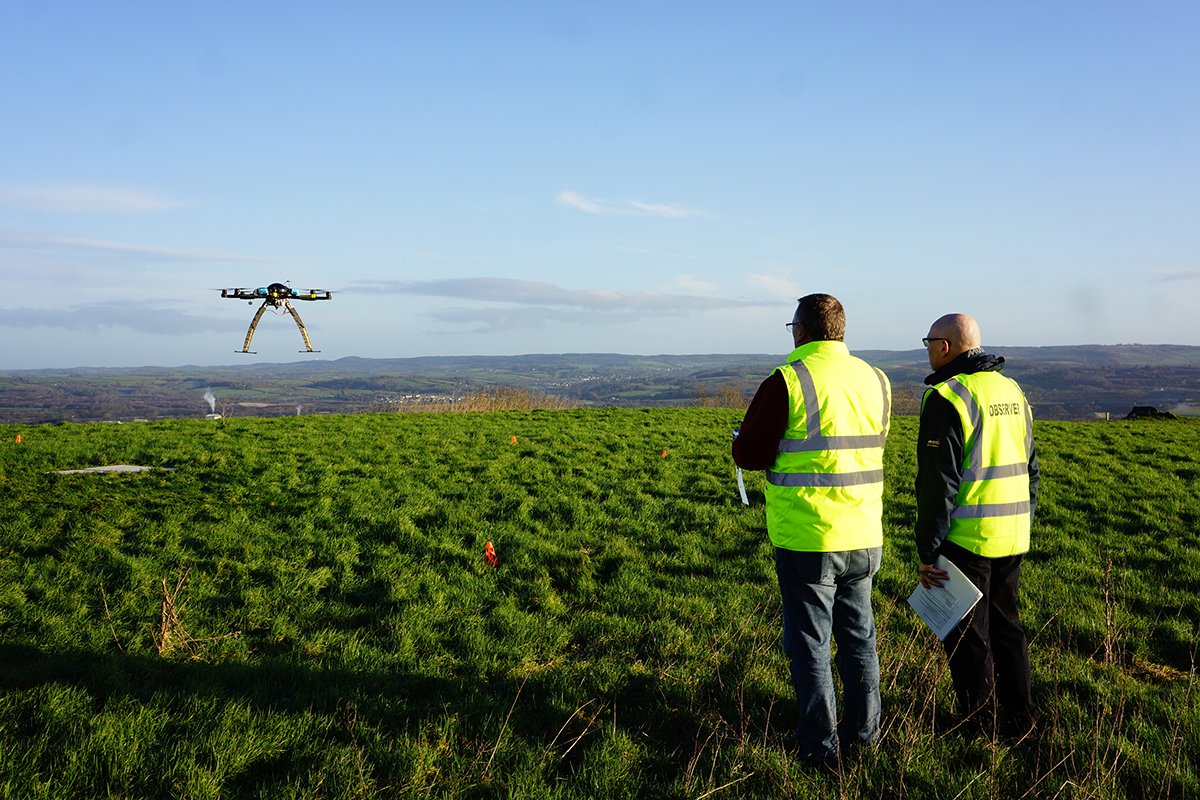 Our friends @Cabroaviation have just launched drone pilot training in Aberdeen.  Read more: