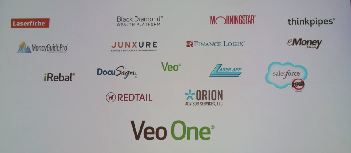 The updated list of integrated solution providers in Veo One® (plus @AdvisoryWorld) #NationalLINC https://t.co/4JGFoLGWxh
