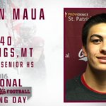 #GrizFootball is excited to add Devin Maua from Billings to the class of 2016! HIGHLIGHTS: https://t.co/vDOojSY8nt https://t.co/ffIg7dXy6w