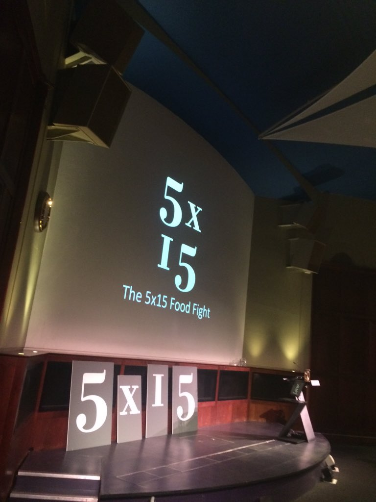 RT @5x15stories: The @RGS_IBG stage is set for @jamieoliver @RosieBoycott @GeorgeMonbiot @DrMichaelMosley Phil James & A.A. Gill https://t.…