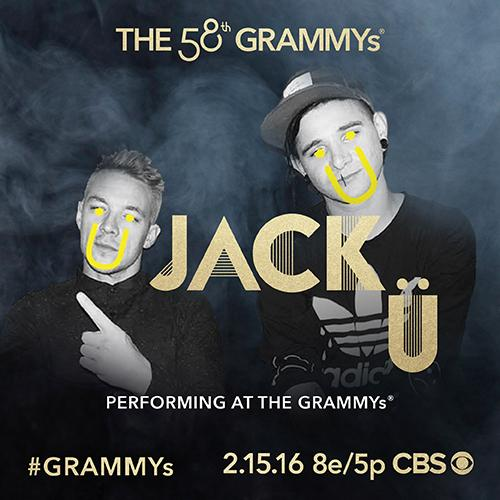 .@diplo & @Skrillex of #JackU to perform with @justinbieber at the 58th #GRAMMYs Feb. 15 on @CBS! https://t.co/jjxub6704B