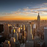 Manhattan #sunset via @NewYorkHabitat #newyork #nyc https://t.co/aJTdS6bkUU