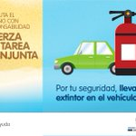 Recuerda llevar siempre en tu vehículo un extintor. Estos pequeños detalles pueden salvar tu vida! #FTCAyuda https://t.co/k10moNqJBo