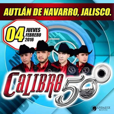 Hoy en el marco del #CarnavalAutlán2016 #Calibre50 https://t.co/op8zNRDNoc