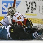 Now the bad news. Karri Ramo leaves in 3rd period and wont play in Arizona. Story here: https://t.co/wmd5MKcs5I https://t.co/SXklPYLKou