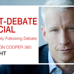 For everything you need to know about the PBS NewsHour #DemDebate, catch @andersoncooper live now on @CNN https://t.co/wthQE4JpOF