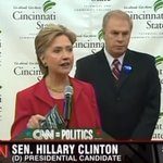 """Hillary Clinton in Cincinnati 8 years ago this month: """"Shame on you, Barack Obama"""" https://t.co/edCn62HM2F"""
