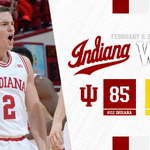 10-2 and tied for FIRST in the Big Ten!!! #iubb #GoIU  🔴⚪️🔴⚪️🔴⚪️ https://t.co/GpHUdsvWyj