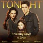"""Untuk malam ini, akan kami tampilkan kelanjutan dari """"The Twilight Saga Breaking Dawn Part II"""" pukul 22.45 WIB https://t.co/AQMmRG8O4K"""