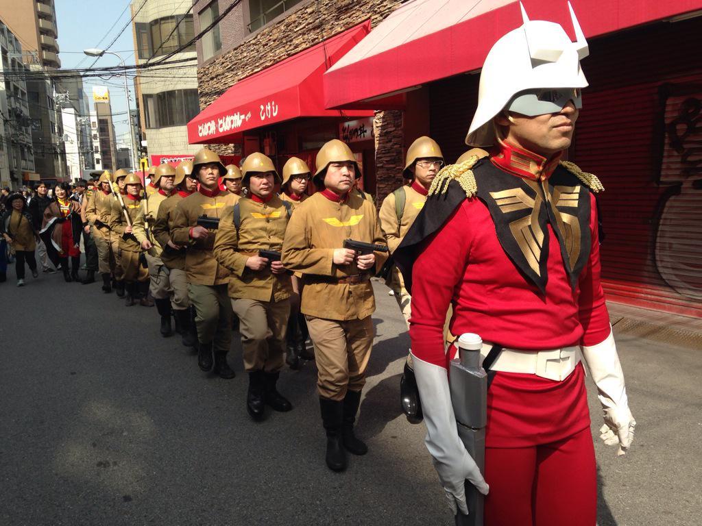 SIEG ZEON開店しました。 3月20日(日)大阪日本橋ストリートフェスタ2016はジオン兵で参加します。 よかったらご一緒しましょう。 終わってから17:00頃開店予定です。 #大須  #ストフェス  #ストフェス2016 https://t.co/2lFYIKwnHE