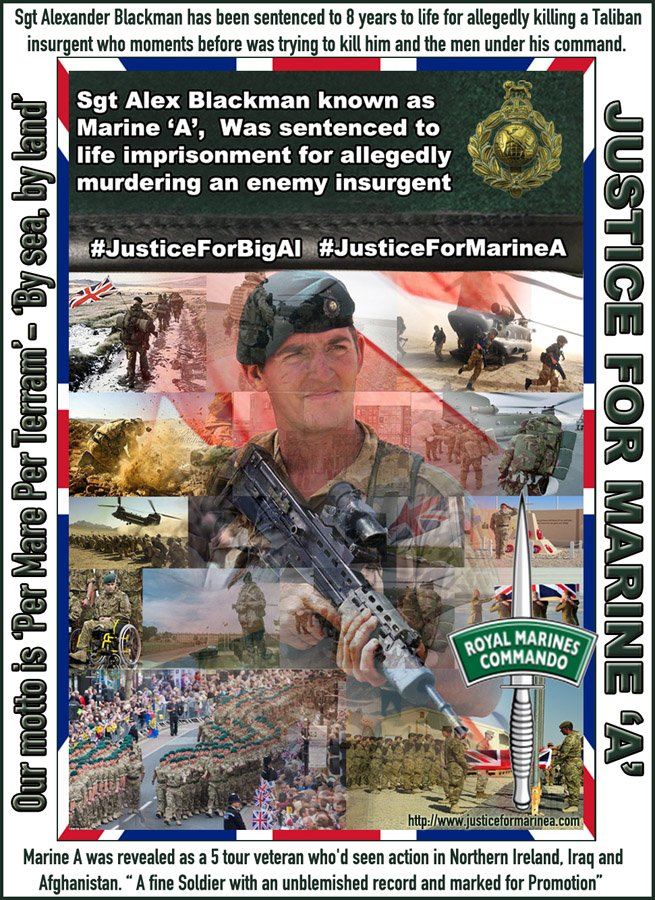 PLEASE SHARE TO SHOW SUPPORT & help raise awareness of this case. #justiceformarineA #JusticeForBigAl https://t.co/Qrz9KLUCxz
