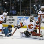 WIN AT A COST: @NHLFlames defeat the @SanJoseSharks 6-5 in a shootout, but lose goaltender Karri Ramo to injury. https://t.co/gaNdhv1d2T