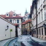 Good (early) morning from #MaláStrana district, busy day ahead of us, but its #Friday ! #UrbanAdventures #Prague https://t.co/cGLnGGQbAW