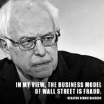"""In my view, the business model of Wall Street is fraud."" - Senator @BernieSanders #DemDebate https://t.co/DUe42c17ao"