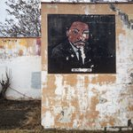 hgreenberg1: RT aNomadPhotog: #MLK on the side of a condemned building in #Flint. #StreetArt #FlintWaterCrisis https://t.co/WJPmIUee18