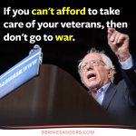 If you cant afford to take care of our veterans, then dont send them to war. #DemDebate https://t.co/HofCGtXHQF