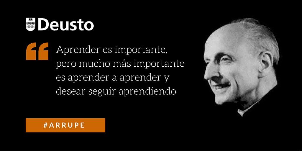 Hoy, 5 de febrero, es el 25 aniversario de la muerte de #Arrupe. Carisma y pasión a raudales https://t.co/KBsmqydFHH