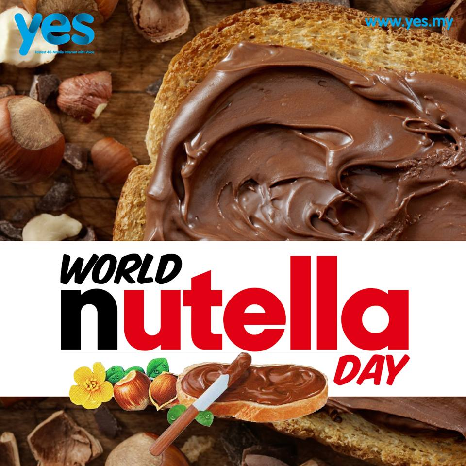 Had your Nutella yet? Happy World Nutella Day! :) #WorldNutellaDay https://t.co/miFGfXdGcS