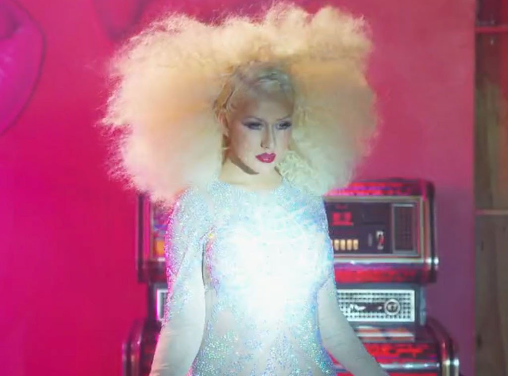 Christina Aguilera was not a diva during The Voice photo shoot: