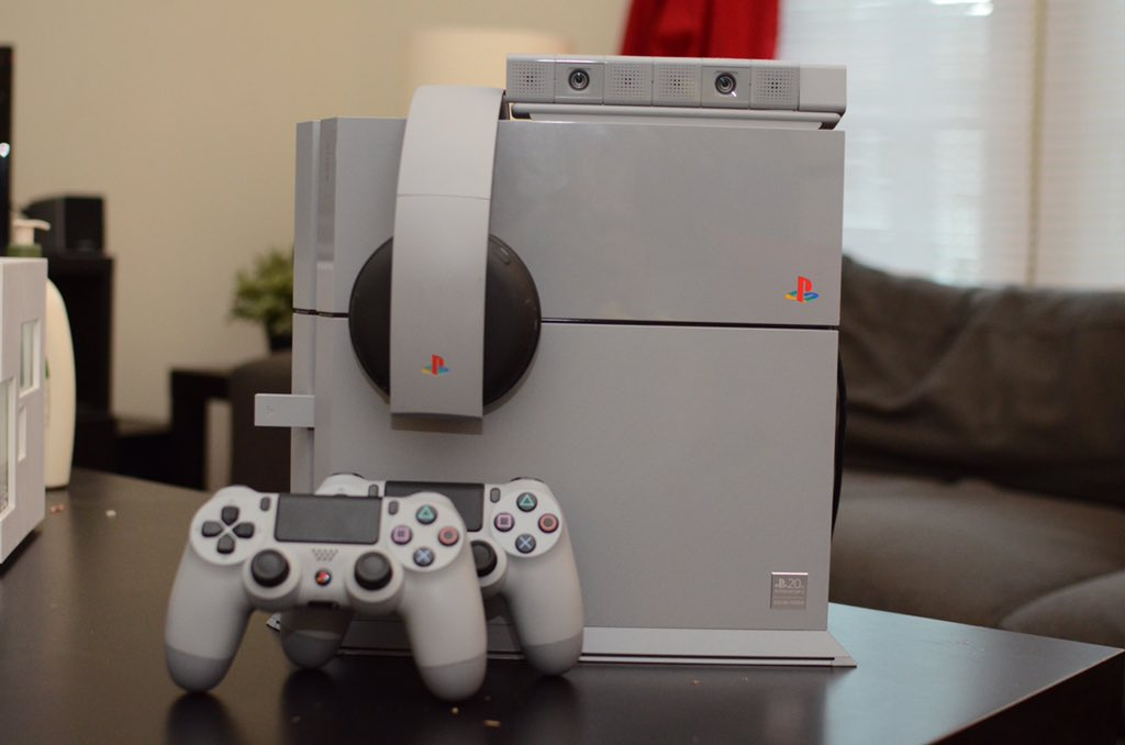 Dear @yosp , when PlayStation VR comes out can you make an original Gray colored one so it can match my set