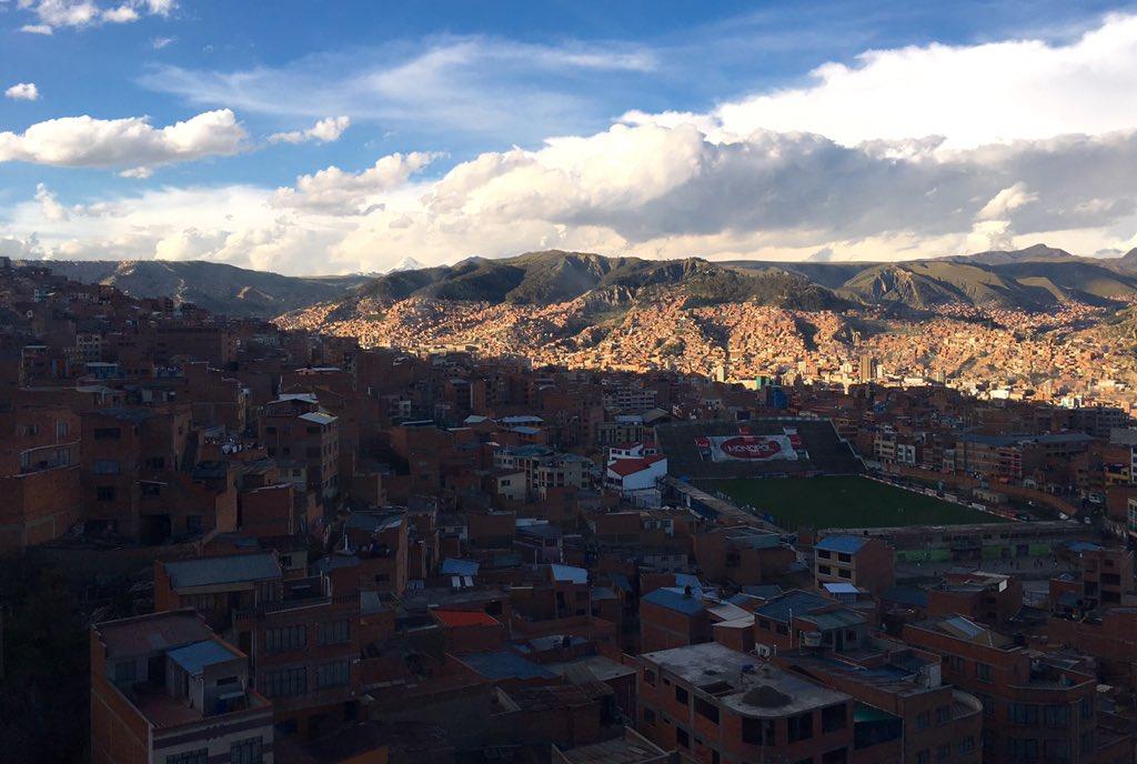 Beautiful day in La Paz https://t.co/RvbFCC2BkB