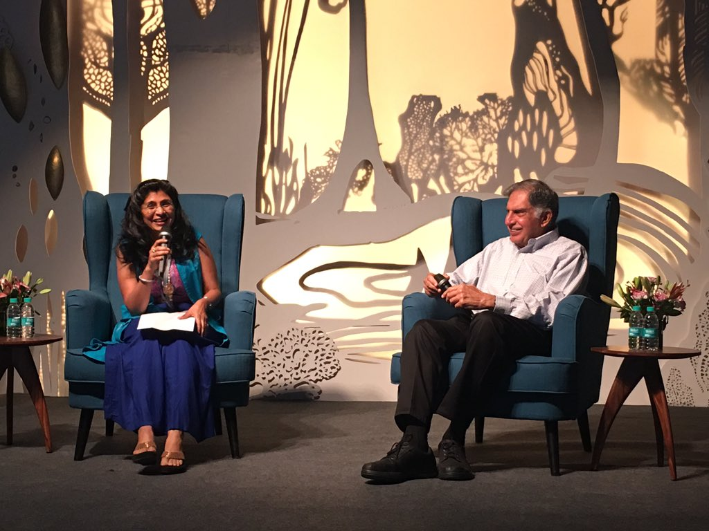 The man, the legend - and now, active startup supporter #RatanTata with @VaniKola - @KstartIndia launch https://t.co/LVTX4n1Ety