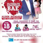 Alden will visit Davao again this month! @aldenrichards02  Get your tickets now Davaoeños 😊 #VoteMaineFPP #KCA https://t.co/foC7olzyKy