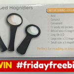 WIN in todays #FridayFreebie. Weve got a set of 3 LED magnifiers up for grabs, just RT & follow to enter https://t.co/TqKI7HQmkV