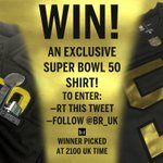 WIN! An exclusive Super Bowl 50 shirt thanks to @NFLUK 🏈  To enter: —RT this tweet  —follow @br_uk by 2100 UK! #NFL https://t.co/rtm3pajsN8