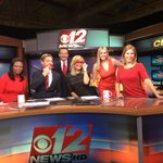 Thank goodness my @cbs12 co-workers remembered to #GoRed! @HeartPalmBeach #CBS12am @KerrinJeromin @ShanTelevision https://t.co/zKxJpGM12l