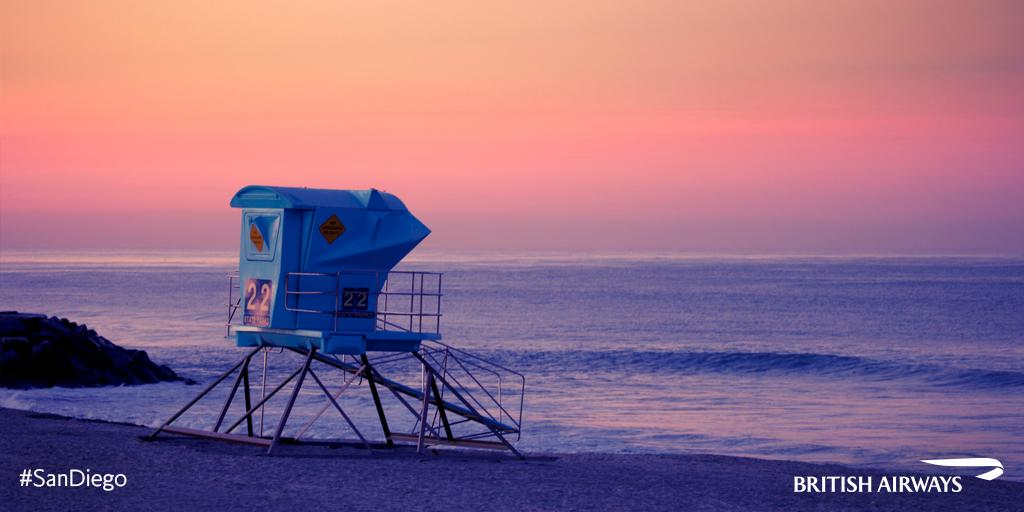 For balmy year-round weather and sun-kissed beaches, visit the southern tip of California.