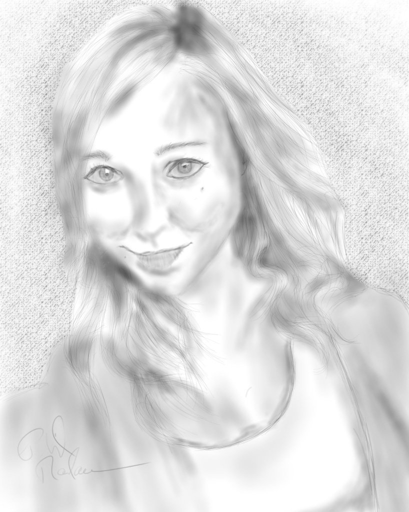 I wasn't happy with my last drawing of @SharlaInJapan so I did a new one. https://t.co/bfxjGXIfme