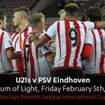 CHEER ON THE LADS: U21s v @PSV @StadiumOfLight  KO 7pm  Tickets Adults: £3, Concessions: £1   #hawaythelads https://t.co/VMis3EIwvy