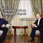 Президент Путин встретился с Лукашенко. На встречу Путин прибыл на лабутенах и в охуительных штанах:   https://t.co/UuYFCe2OFD