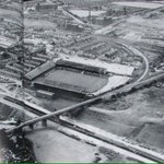 Aerial view of Burnden Park, the former home of Bolton Wanderers in 1971 #Bolton #BWFC https://t.co/N3n8snf5DE