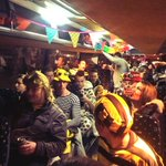 De Carnavalsbus van de @bredalocos is klaar voor de autopolonaise naar #dorNAC! #NACpraat https://t.co/sUFvkFv33L