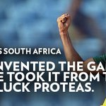 Good luck #TheProteas for the ODI vs #England today! @OfficialCSA #ProteaFire https://t.co/dCdxmNF03K
