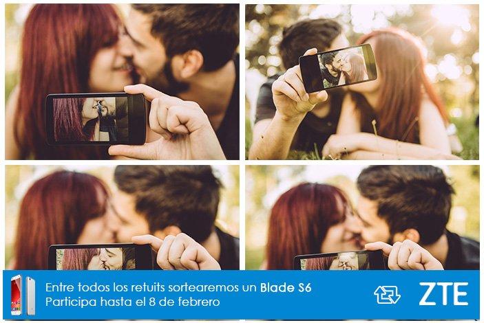 ¿Necesitamos 400 fotos iguales para inmortalizar ese momento? Igual sí.  Sonríe, haz RT y gana un Blade S6 #Sorteo https://t.co/zvKbmt3cMT