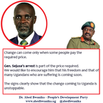 Government of Uganda & People of Uganda should Collectively Prepare for Peaceful Change #UgandaDecides #UPDF4Peace https://t.co/M69b7GvzaR