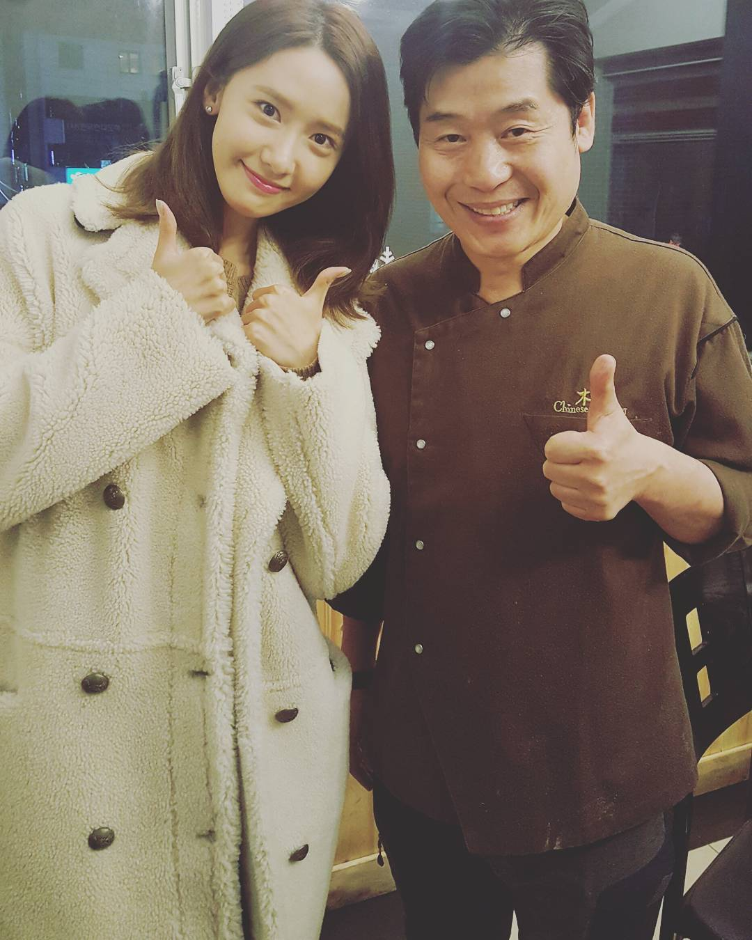 SNSD Yoona with Chef Lee Yeon Bok https://t.co/jHZX8zjfy3