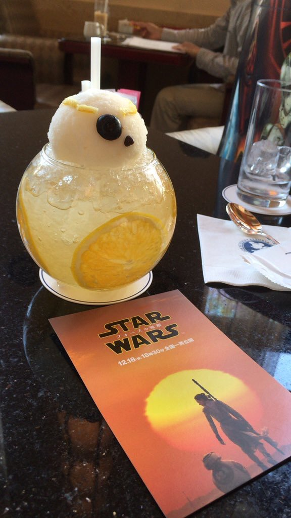 Cocktails de #StarWars en el hotel Ambassador de Disney #Tokyo。¡Geniales! Fotos via @su_u__  https://t.co/4B0UD42jII https://t.co/OeTfTb98sD