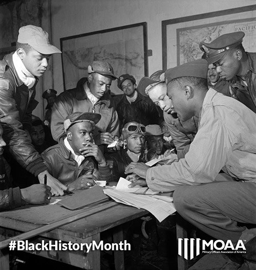 In honor of #BlackHistoryMonth, we remember the Tuskegee Airmen, who were the 1st black aviators in the US military https://t.co/8VipKcAPcR