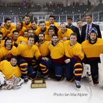 Congrats to the @queensgaels mens hockey team for winning the #CarrHarrisCup last night! https://t.co/x5Al5dNZX3 https://t.co/ZW7EvKKzj1