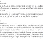 Comentarios de sevillistas la noche que el Betis ganó la Copa. Que sirva para que cambiemos nuestra mentalidad YA. https://t.co/PNiCKsNVjd