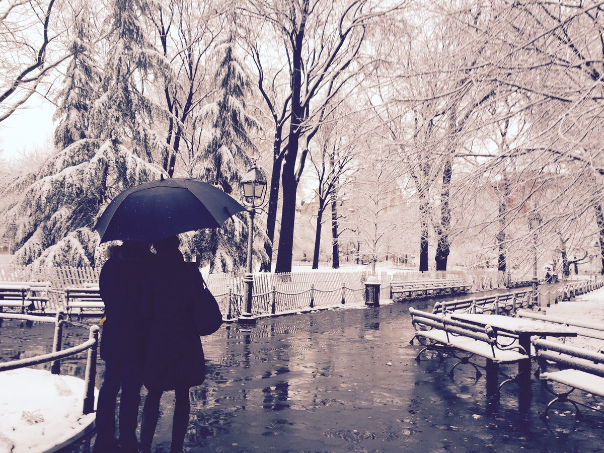 Snowy morning in Washington Square Park: https://t.co/cEzwrlcgdu