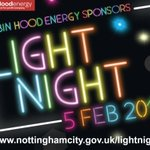 Its almost time for #LightNight! Have a fantastic #FREE evening out in #Nottingham https://t.co/TE8HiJ6nHN https://t.co/PItvPcdGNj