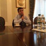 Важный разговор с @PavloKlimkin о Минске, урегулировании на Донбассе, референдуме в Голландии. Оптимистично. https://t.co/ksJLuOAo8V