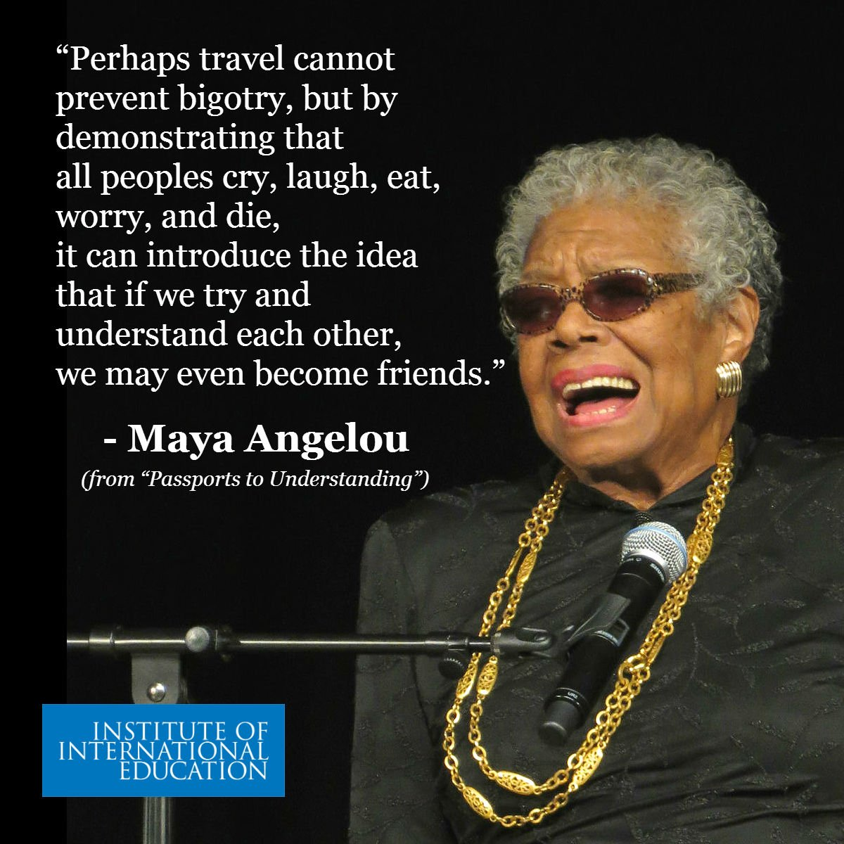 Did you know Maya Angelou was a @FulbrightPrgrm lecturer & advocate for international exchanges #BlackHistoryMonth https://t.co/IlZAGCpnjx