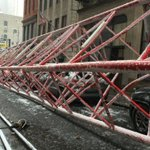 At least 1 dead and 2 seriously injured after a #cranecollapse in New York City https://t.co/fj3toeVMcF https://t.co/SycUAcmB1I